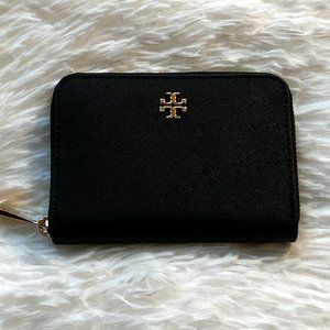 NWT Tory Burch Emerson Zip Coin Case Wallet